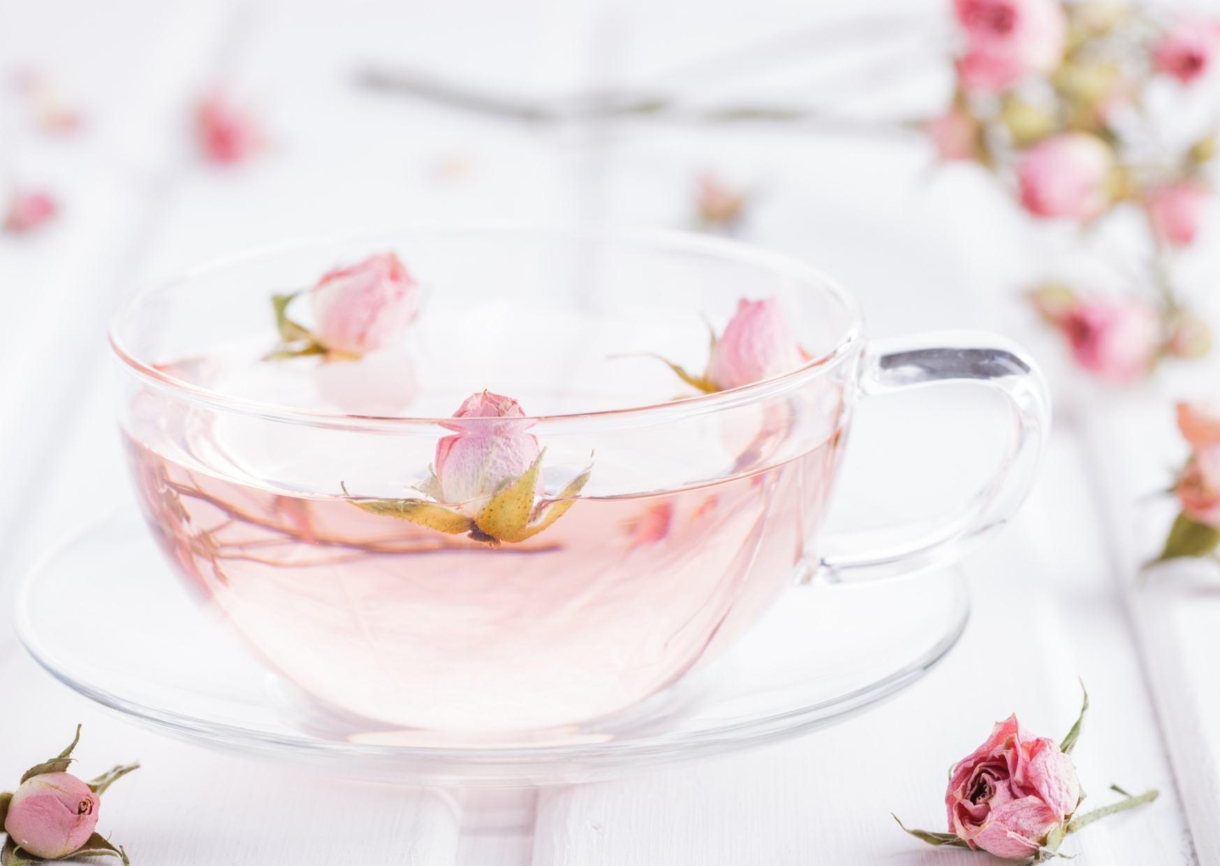 Rosa Damascena Flower Tea