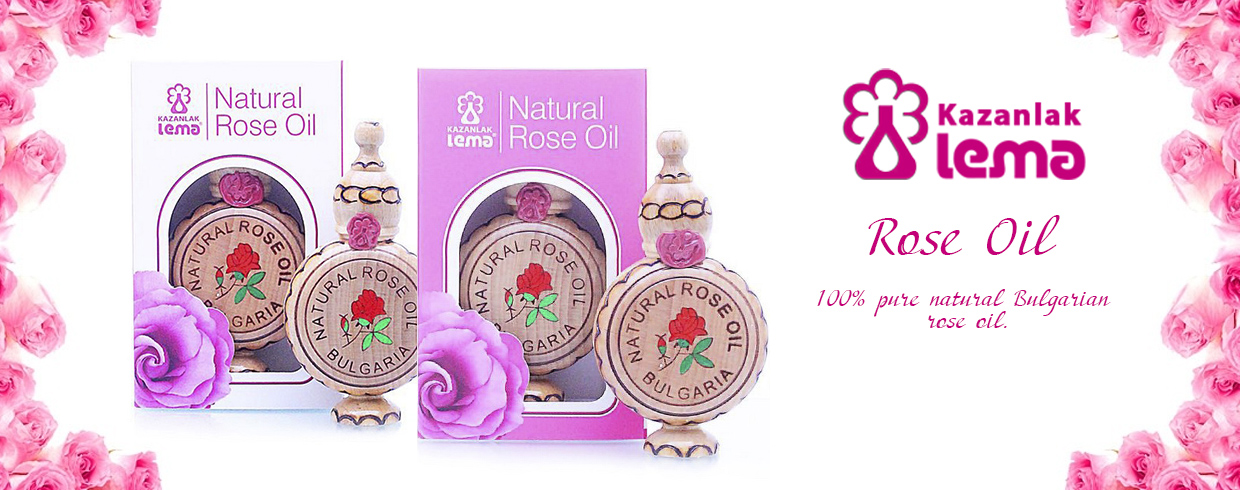 Natural Bulgarian rose oil