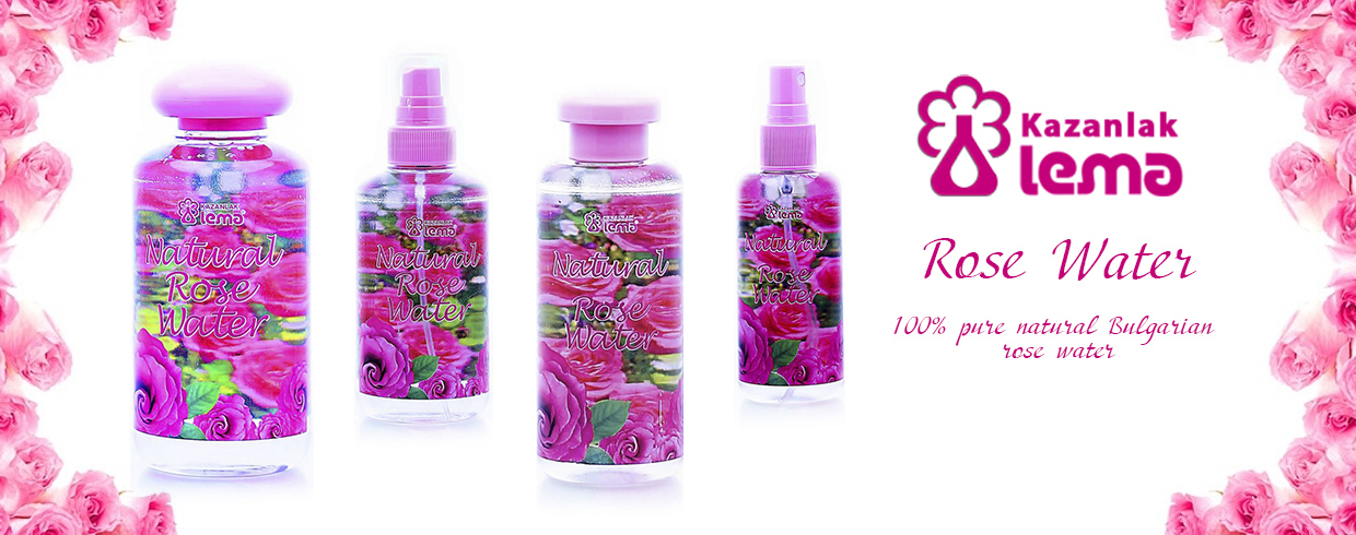 Natural Bulgarian rose water