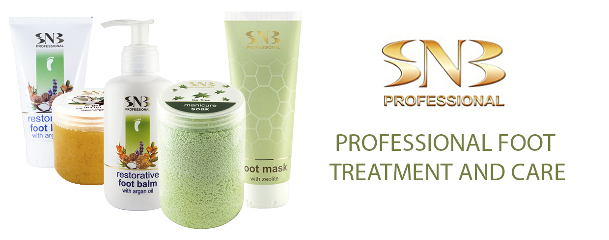 Foot care, creams and professional treatment