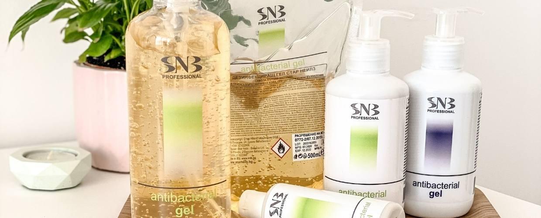 Antibacterial gels