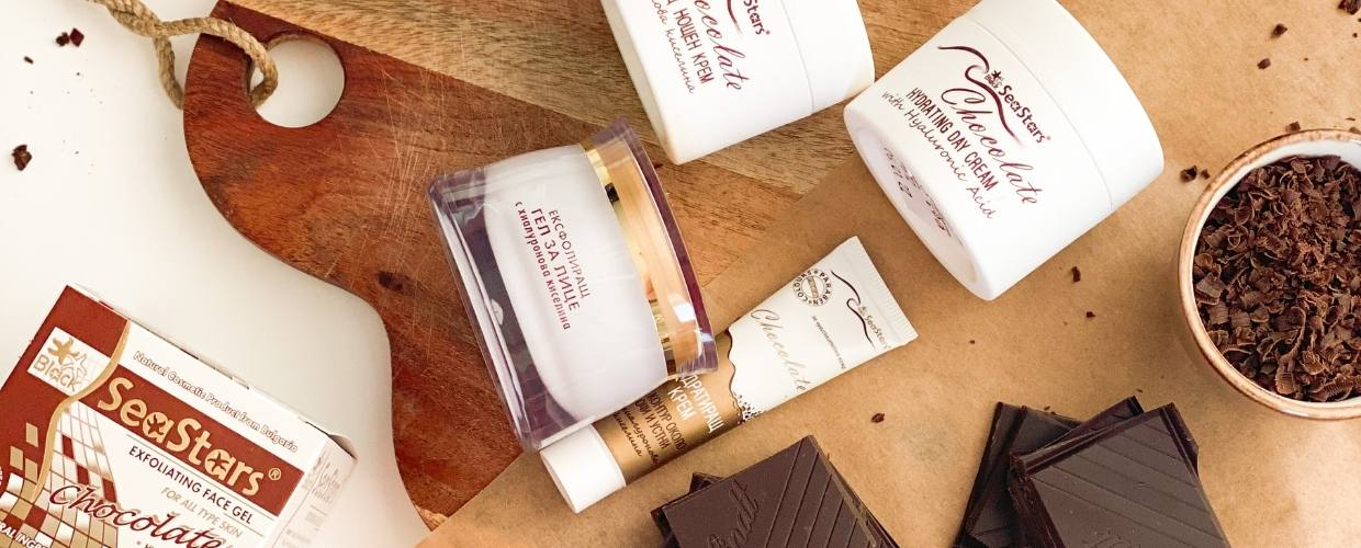 Chocolate with hyaluronic acid