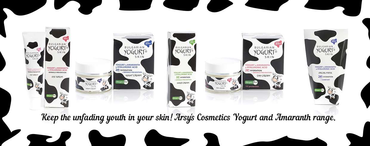 Yoghurt and Amaranth Arsy Cosmetics