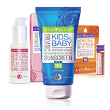 Слънцезащитна козметика Alteya Organics