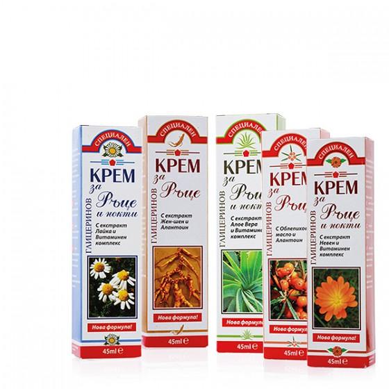 Glycerin creams