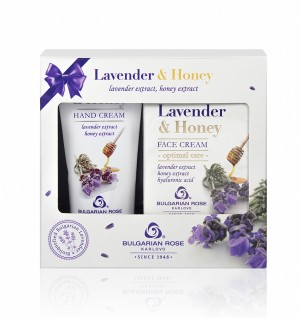 Gift set Lavender and Honey Bulgarian Rose Karlovo