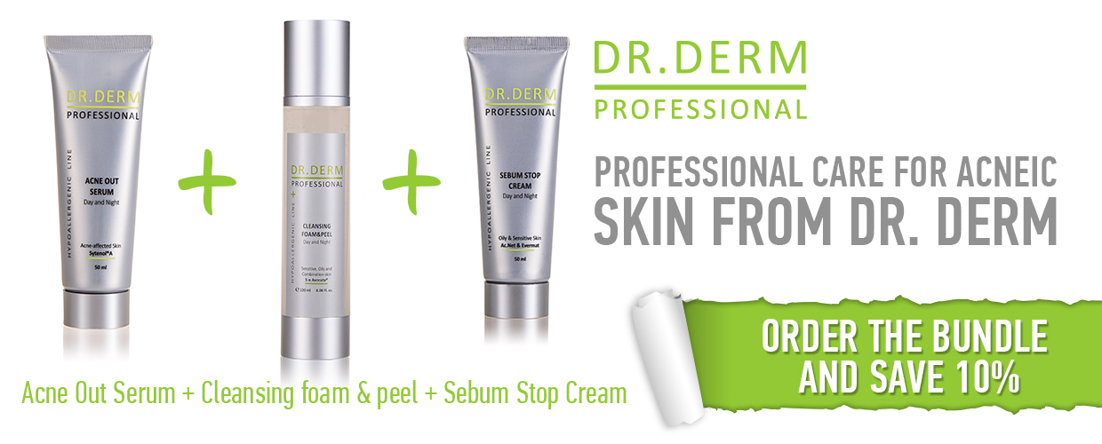 Anti-Acne Bundle by Dr. Derm