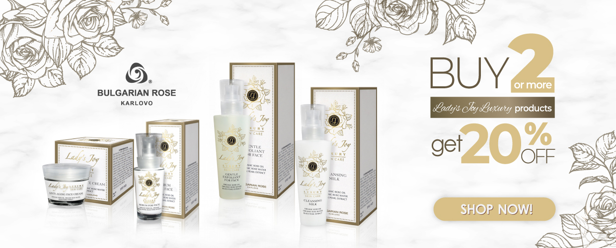 Buy 2 or more Lady's Joy Luxury products