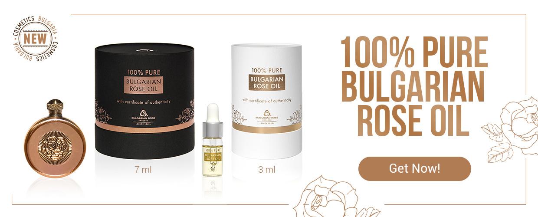 100% Pure Bulgarian Rose Oil