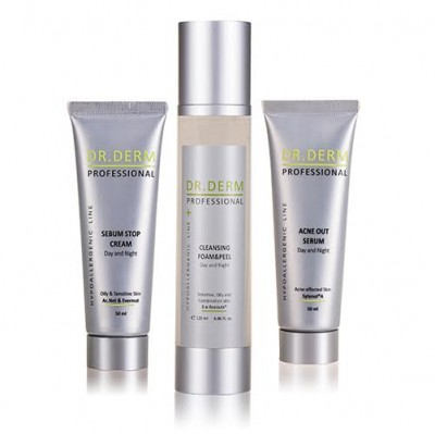 The Ultimate Anti-Acne Bundle by Dr. Derm