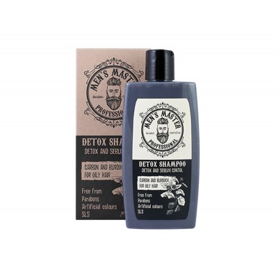 Detox and Sebum Control Men Shampoo Spa Master Professional