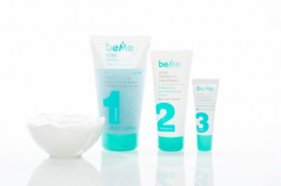 BeMe- New Probiotic Acne Treatment Range