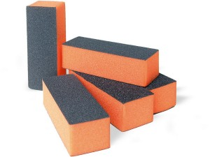 Orange nail buffer blocks 100/180 SNB