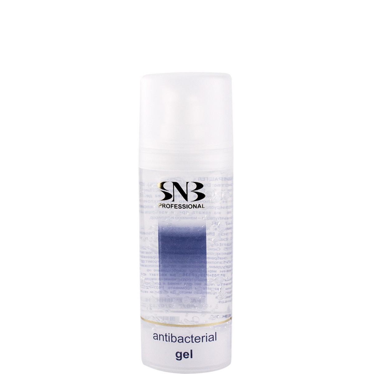 Antibacterial gel for hands SNB 30 ml.