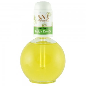 Cuticle quick dry oil with linden extract SNB 75 ml.