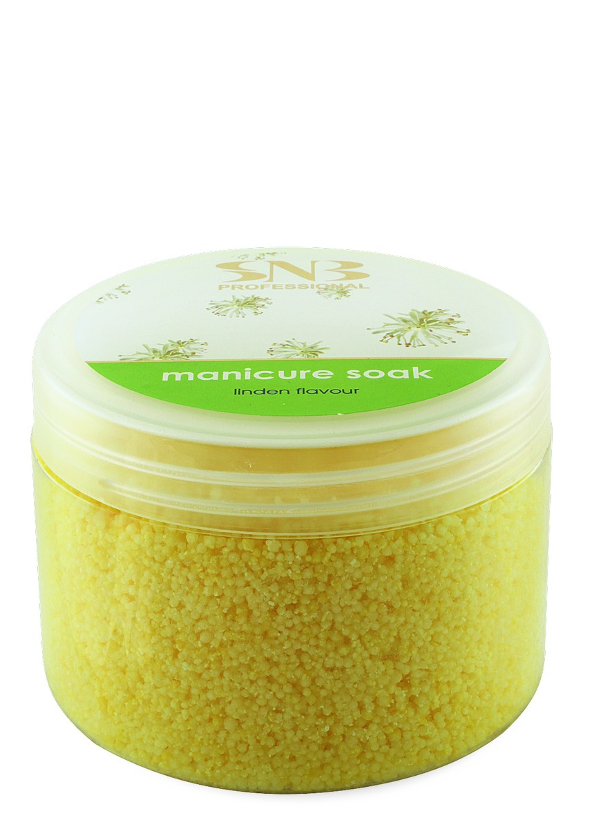 Softening manicure soak with linded extract SNB