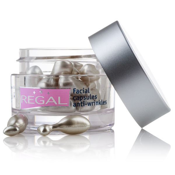 Anti-wrinkle facial capsules with Botulinum Effect Regal Age Control Rosa Impex