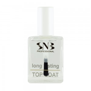 Top coat nail polish with a lasting effect SNB