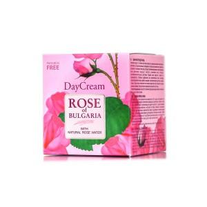 Дневен крем за лице с розова вода Rose of Bulgaria Biofresh