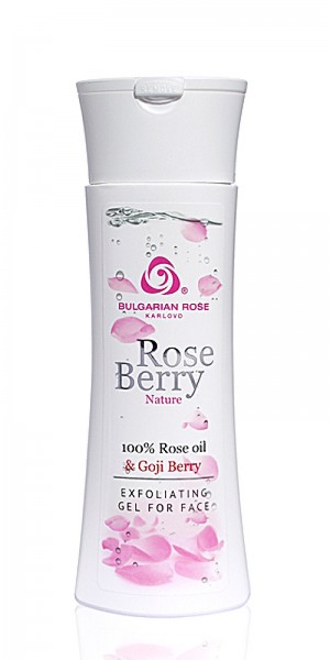 Exfoliating facial washing gel Rose Berry Nature Bulgarian Rose Karlovo