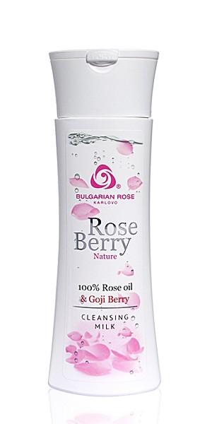 Почистващо мляко за лице Rose Berry Nature Българска Роза Карлово