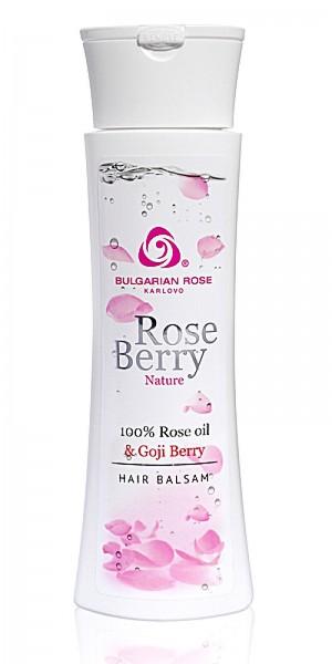 Nourishing hair conditioner Rose Berry Nature Bulgarian Rose Karlovo