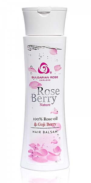 Nourishing hair conditioner Rose Berry Nature Bulgarian Rose Karlovo