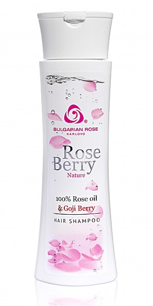 Hair shampoo Rose Berry Nature Bulgarian Rose Karlovo