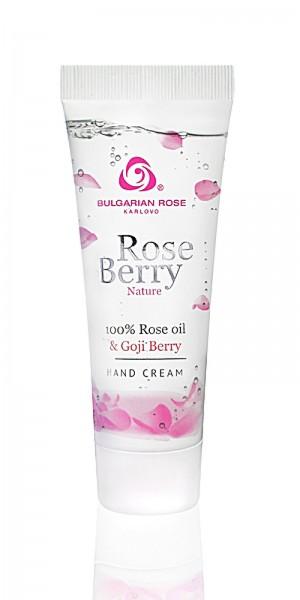 Moisturizing hand cream Rose Berry Nature Bulgarian Rose Karlovo