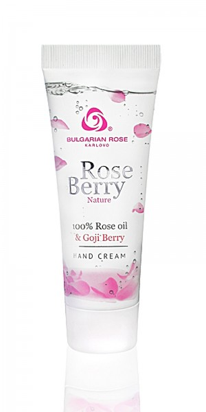 Moisturizing hand cream Rose Berry Nature Bulgarian Rose Karlovo