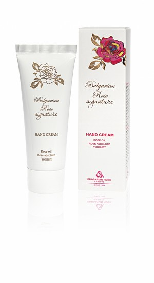 Moisturizing hand cream Signature Bulgarian Rose Karlovo