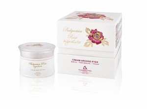 Delicate eye contour cream Signature Bulgarian Rose Karlovo