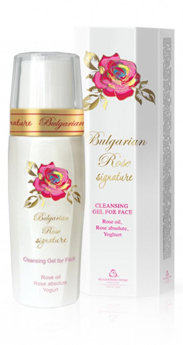 Почистващ гел за лице Bulgarian Rose Signature Българска Роза Карлово