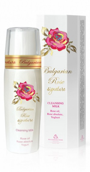 Delicate facial cleansing milk Signature Bulgarian Rose Karlovo