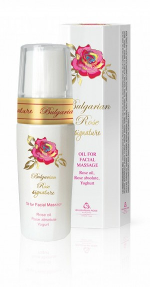 Facial massage oil Signature Bulgarian Rose Karlovo