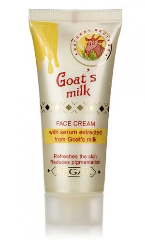 Избелващ крем за лице с млечна суроватка Regal Goat's Milk Rosa Impex