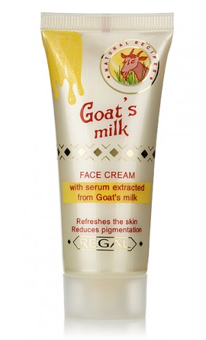 Избелващ крем за лице с млечна суроватка Regal Goat's Milk Rosa Impex