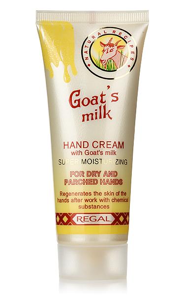 Hand cream super moisturizing Regal Goat's Milk Rosa Impex