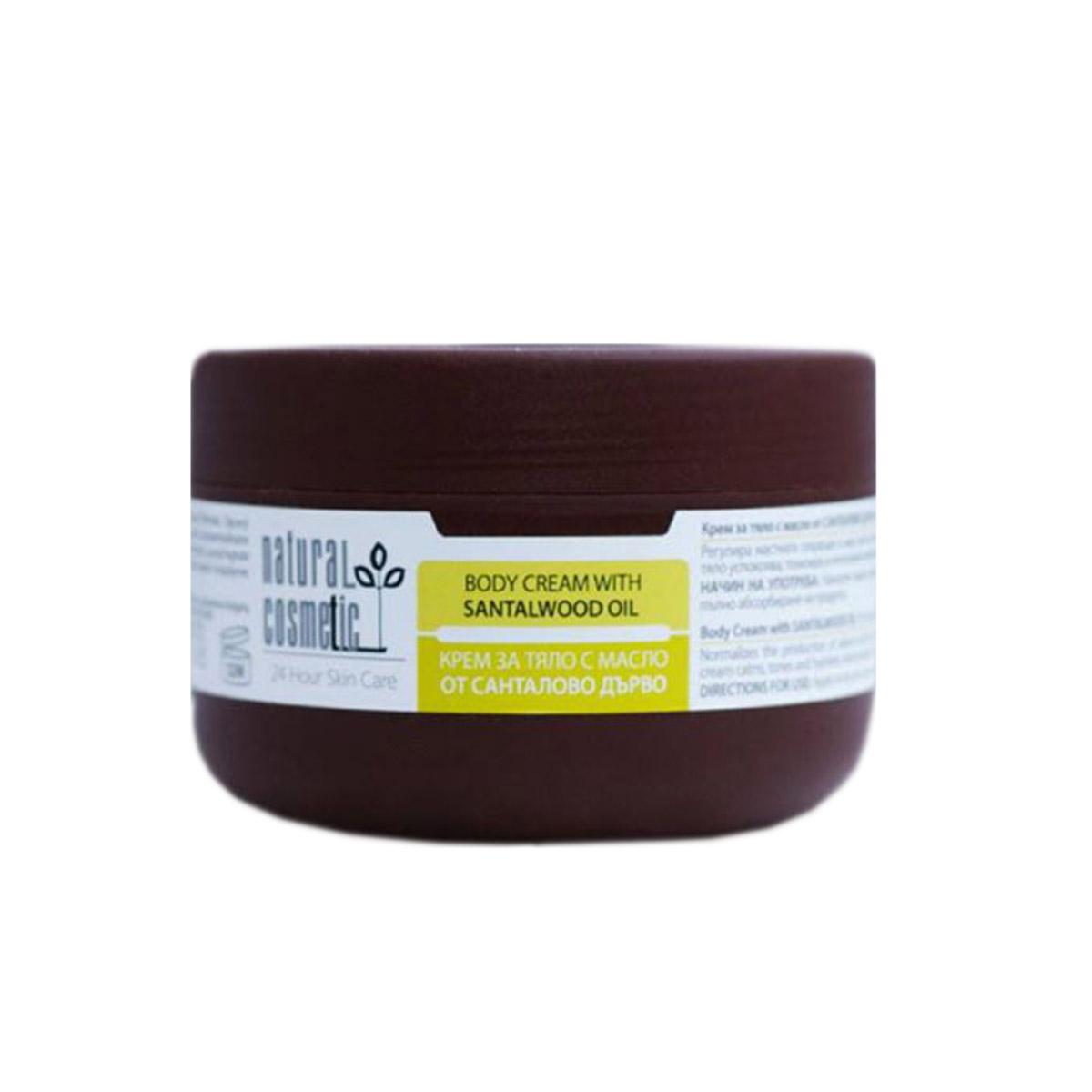 Крем за тяло с етерично масло от сандалово дърво Relax 24 Natural Cosmetic