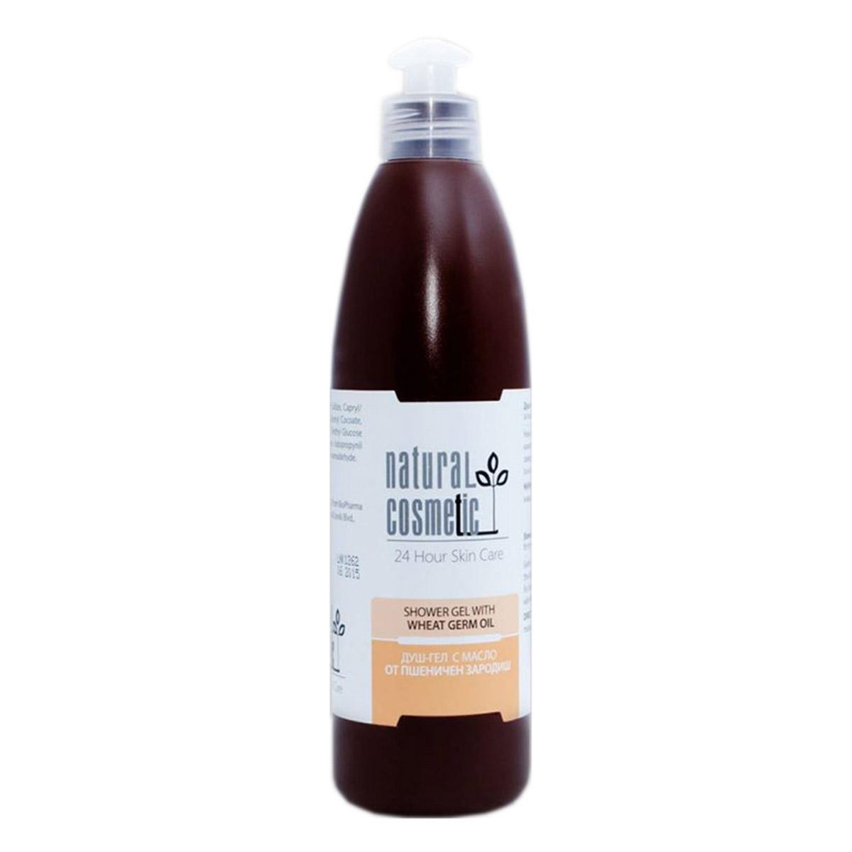 Душ-гел с масло от пшеничен зародиш Relax 24 Natural Cosmetic