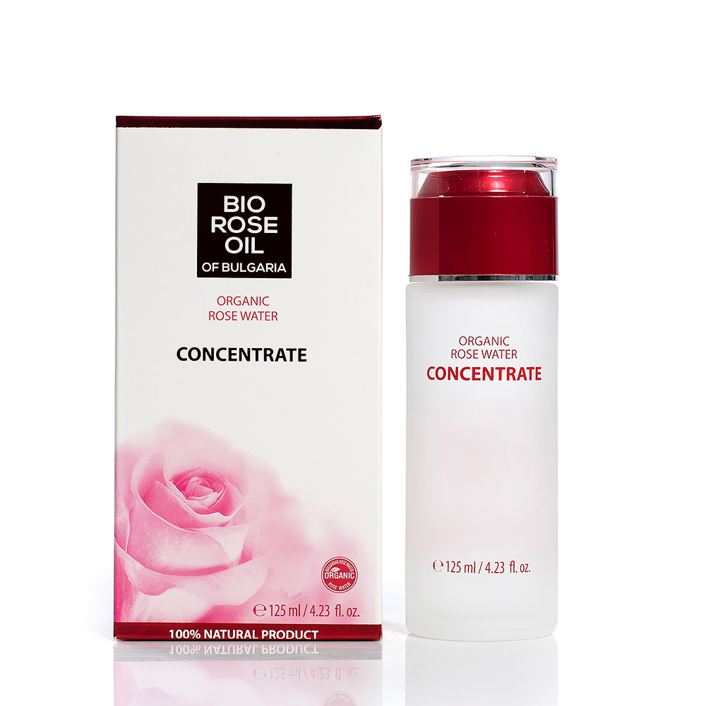 Bio concentrated rose water Bio Rose Oil of Bulgaria Biofresh