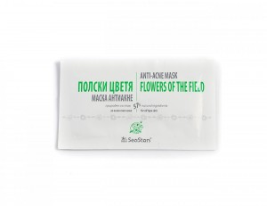 Cleansing Anti-acne Mask Flowers of the Field Black Sea Stars