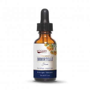 Anti-age elixir for face Immortelle Wooden Spoon