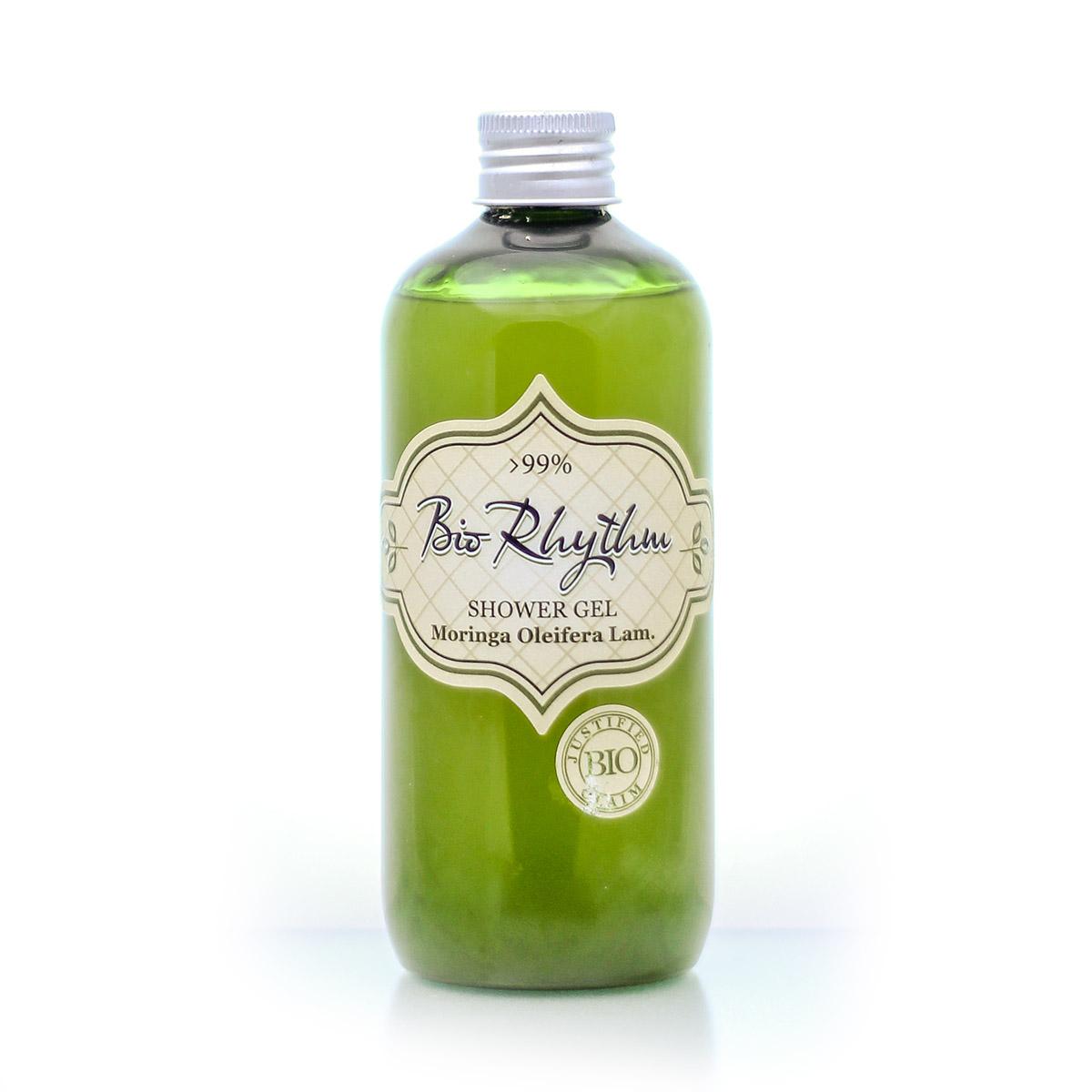 Natural shower gel with moringa oleifera bio oil Biorhythm Natural Cosmetic