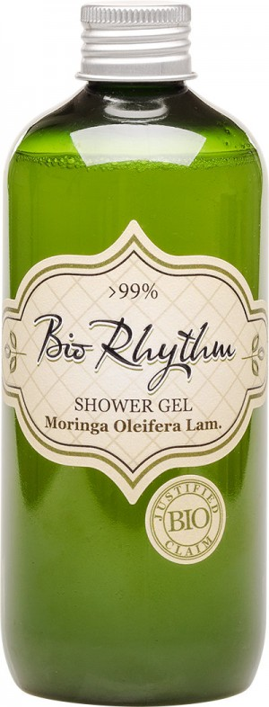 Natural shower gel with moringa oleifera bio oil Biorhythm Natural Cosmetic