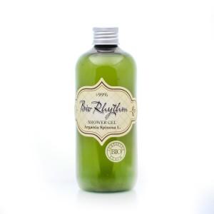 Natural shower gel with organic argan oil Biorhythm Natural Cosmetic