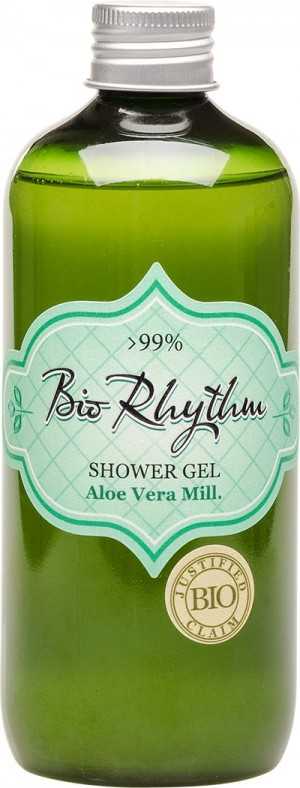 Natural shower gel with aloe extract Biorhythm Natural Cosmetic