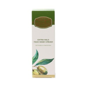 Extra mild face wash cream Olive Oil of Greece Biofresh