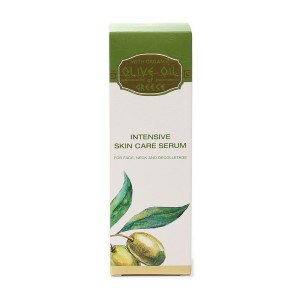 Intensive skin care serum for face, neck and decolletage Olive Oil of Greece Biofresh