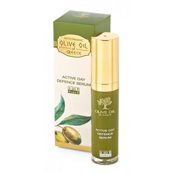 Серум за активна защита за лице SPF 20 Olive Oil of Greece Biofresh